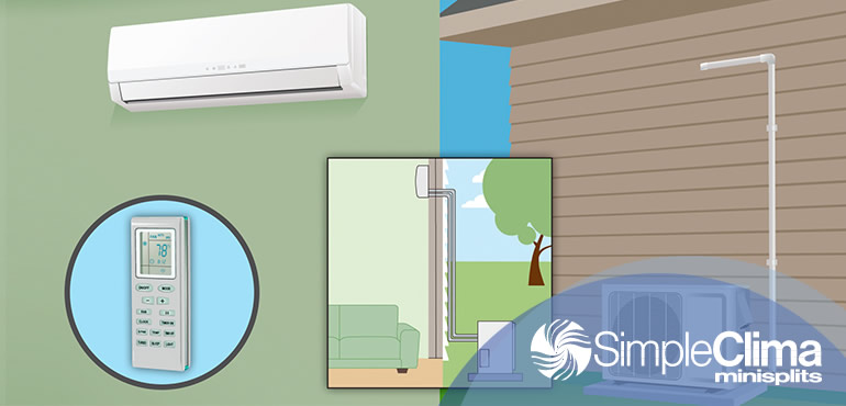 Dónde se recomienda instalar un aire acondicionado