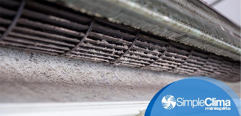 5 cosas que acumula el aire acondicionado si no le haces mantenimiento