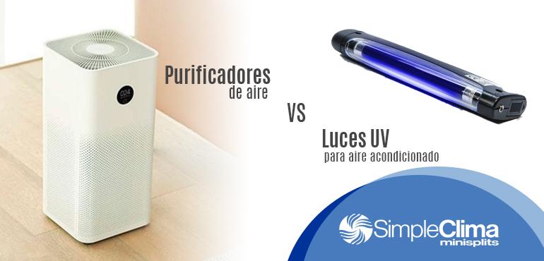 Purificadores de aire o luz uv, ¿cuál es mejor para limpiar el aire de interiores?